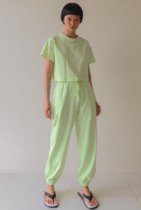 Mint Green Tee and Trackie Set
