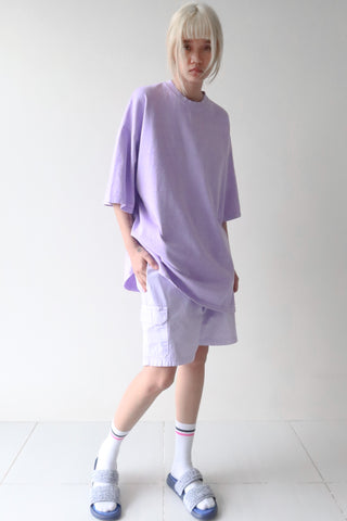 Wisteria T-Shirt and Lavender Shorts Set