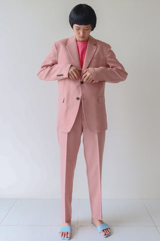 Rose Blush Single Breasted Suit Set