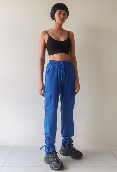 Electric Blue Trackies