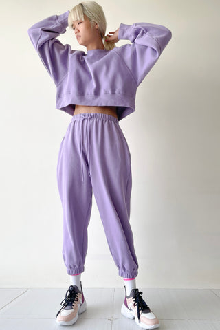 Wisteria Sweater Top and Trackie Set