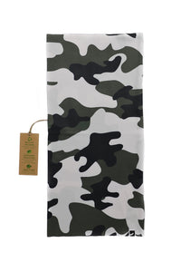 CAMOUFLAGE TUBE SCARF