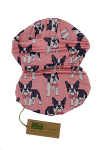 FRENCH BULLDOG TUBE SCARF