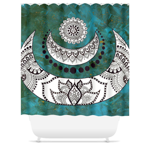 Crescent Shower Curtain