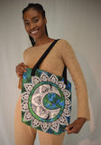 Moon Mandala Beach Bag Tote