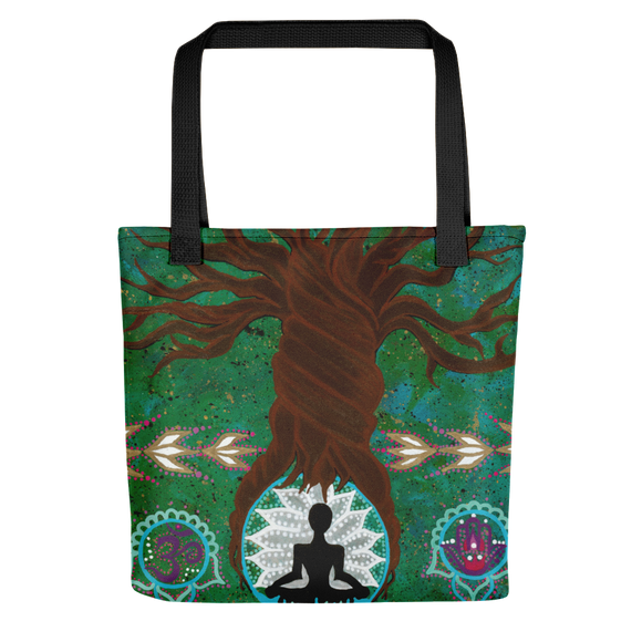 Tree of Life Roots Beach Bag Tote