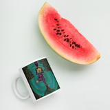 Rooted Sole Mug with watermelon for scale