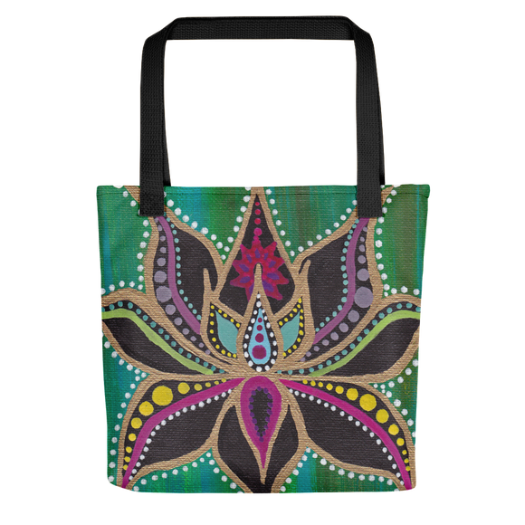 Lotus Flower Beach Bag Tote