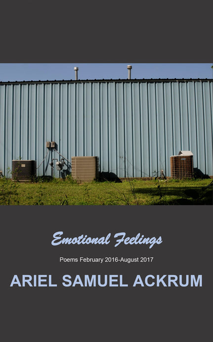 Emotional Feelings: Poems February 2016-August 2017