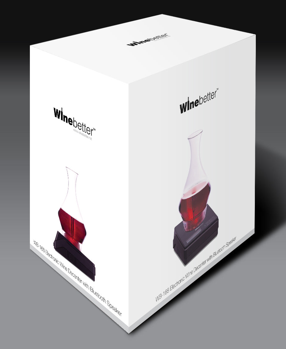 Winebetter - WB168 Electronic Wine Decanter with Bluetooth Speaker