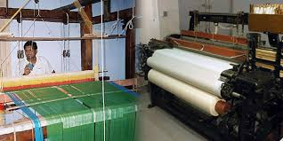 Handloom and Powerloom Sectors in India