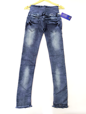 G - Eleven 4 Button Broad Belt Slim fit Stretchable Jeans