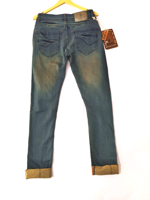 Stylish and Heavy Damage Jeans