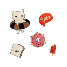Load image into Gallery viewer, Koneko & Friends - Sticker Pack