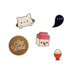 Koneko & Friends - Sticker Pack