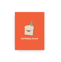 Load image into Gallery viewer, Birthday Toast Card