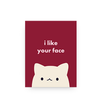 Load image into Gallery viewer, Cute Face - Card