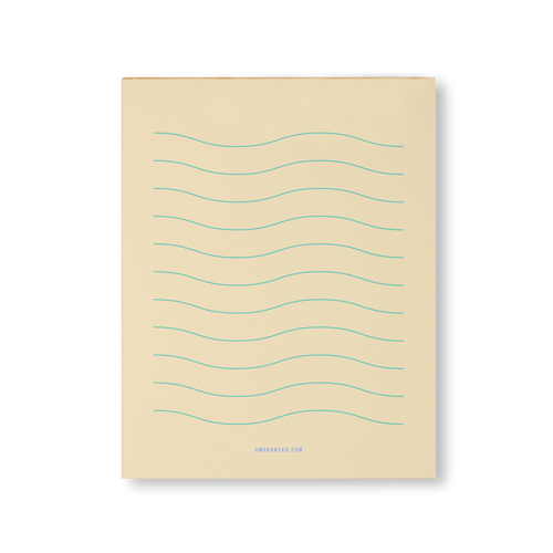 Wavy Lines - Notepad