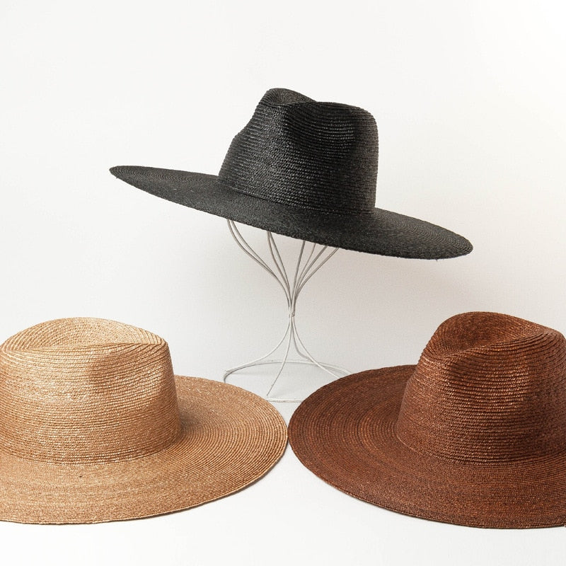 Straw Big Brim Beach Hat