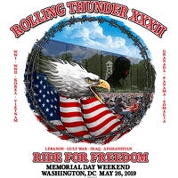 T-SHIRT FRONT ROLLING THUNDER 2019