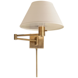 Classic Swing Arm Wall Lamp - Luxury Lighting By Greige