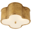 Basil Small Flush Mount - Luxury Lighting By Greige