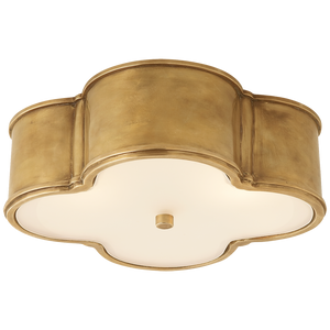 Basil Large Flush Mount - Luxury Lighting By Greige