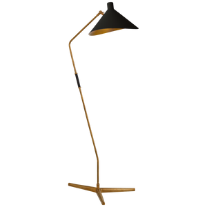 Mayotte Large Offset Floor Lamp - Luxury Lighting By Greige