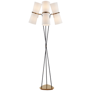 Clarkson Triple Floor Lamp - Luxury Lighting By Greige