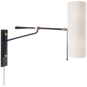 Frankfort Articulating Wall Light - Luxury Lighting By Greige