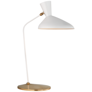 Austen Large Offset Table Lamp - Luxury Lighting By Greige