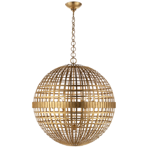 Mill Large Globe Lantern - Luxury Lighting By Greige