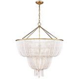 Jacqueline Two-Tier Chandelier - Luxury Lighting By Greige