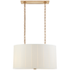 Perfect Pleat Oval Hanging Shade - Luxury Lighting By Greige