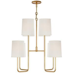 Go Lightly Medium Chandelier - Luxury Lighting By Greige