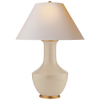 Lambay Table Lamp in Coconut with Natural Paper Shade
