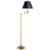 Dorchester Swing Arm Floor Lamp - Luxury Lighting By Greige