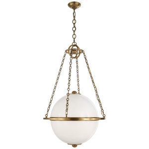 Modern Globe Lantern - Luxury Lighting By Greige