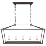 Darlana Medium Linear Lantern - Luxury Lighting By Greige