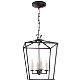 Darlana Small Lantern - Luxury Lighting By Greige