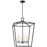 Darlana Extra Large Lantern - Luxury Lighting By Greige