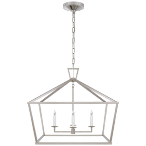 Darlana Medium Wide Lantern - Luxury Lighting By Greige