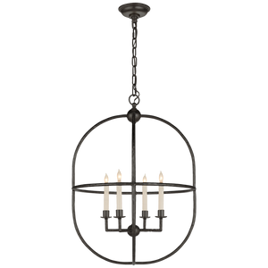 Desmond Open Oval Lantern - Luxury Lighting By Greige