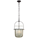 Lorford Small Smoke Bell Lantern - Luxury Lighting By Greige