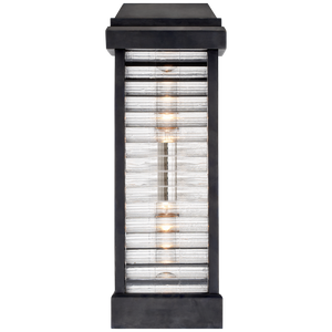 Dunmore Curved Glass Louver Sconce - Luxury Lighting By Greige