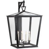 Darlana Large Bracket Lantern - Luxury Lighting By Greige