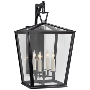 Darlana Medium Bracket Lantern - Luxury Lighting By Greige