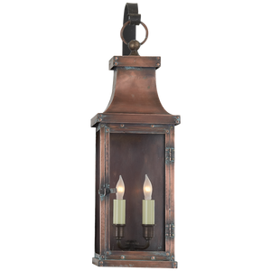 Bedford Medium Scroll Arm Lantern - Luxury Lighting By Greige