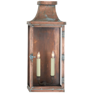 Bedford Wide Tall 3/4 Lantern - Luxury Lighting By Greige
