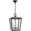 Darlana Small Hanging Lantern - Luxury Lighting By Greige